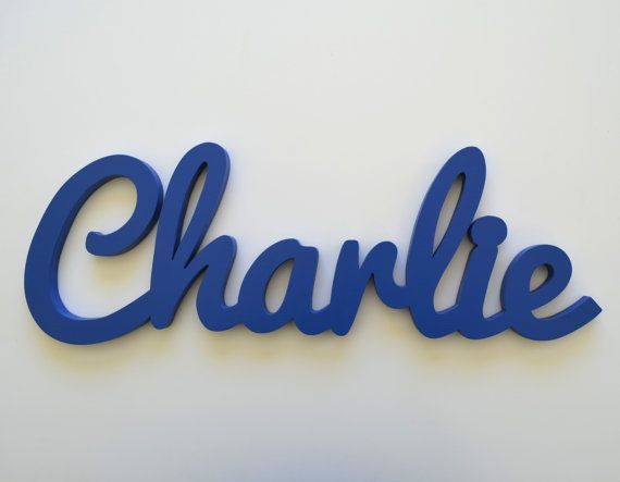 wooden name signs