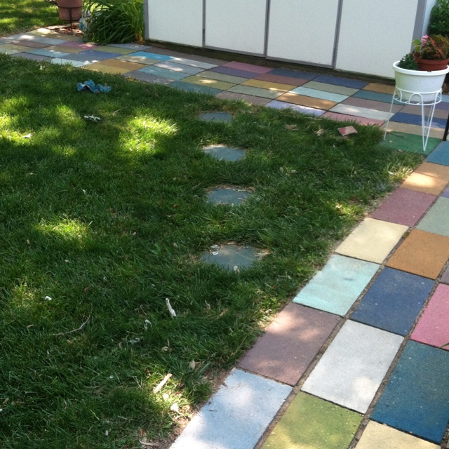 Paver Designs For Backyard Painting Picture 2018
