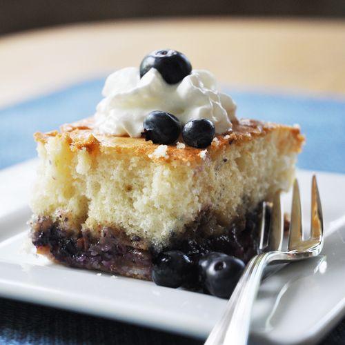 Fruit-Bottom Cake Recipe — Dishmaps