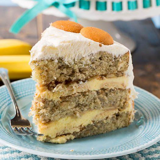 caramel banana cake double banana cake banana sheet cake wafer base ...