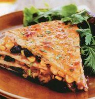 Corn and Black Bean Tortilla Pie from Good Housekeeping Comfort Food ...