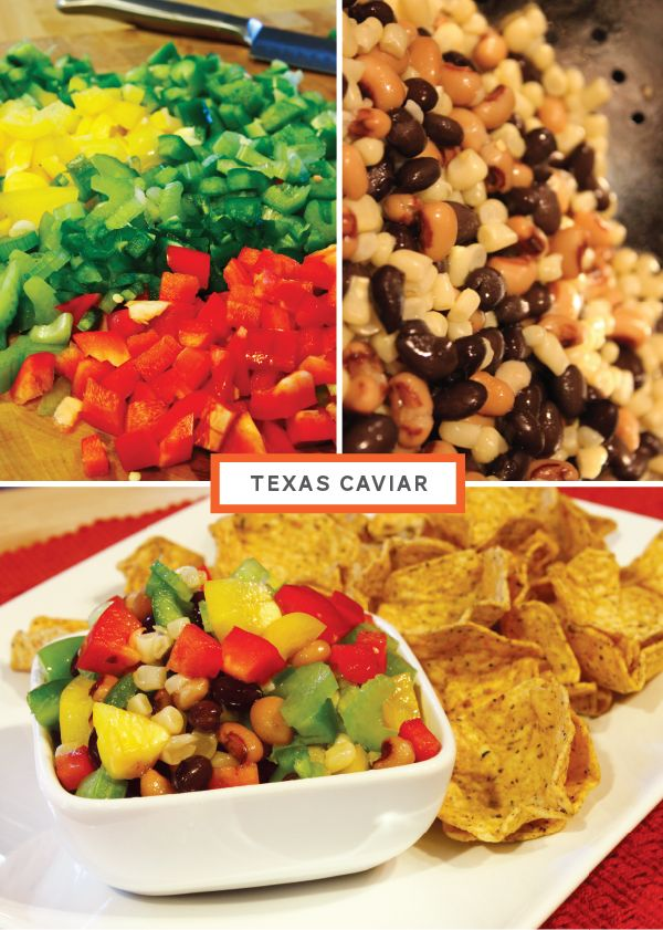 Texas Caviar, from Breanna Rose | Southern Chic Wedding Catering Idea ...