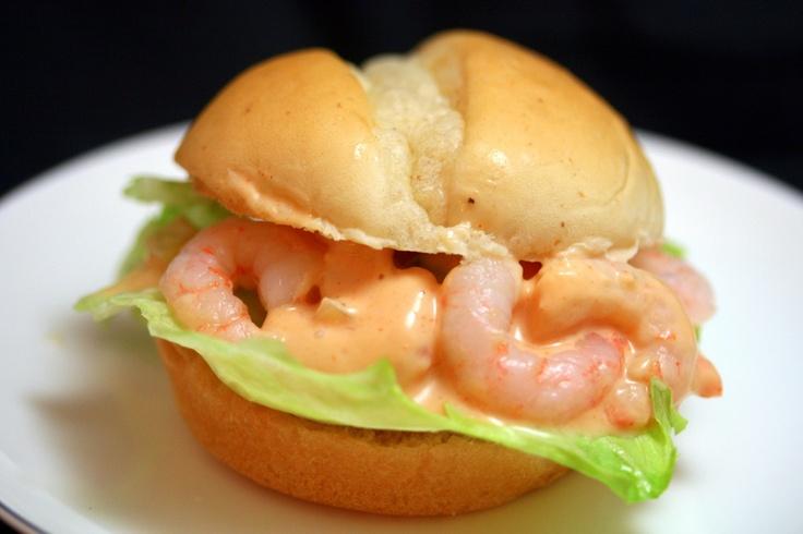 Mini-shrimp po'boys with remoulade   Entertaining   Pinterest