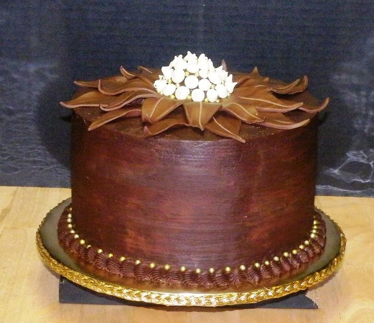 Chocolate in Bloom Birthday Cake Devil's Food Cake with Coconut Almond ...