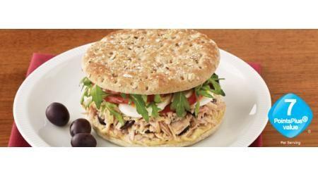 Sandwich Thins' Tuna Nicoise Sandwich - Weight Watchers PointsPlus ...