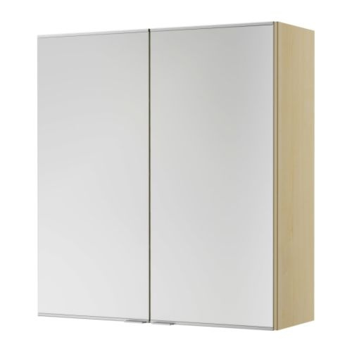 ikea bathroom mirror & storage Decor
