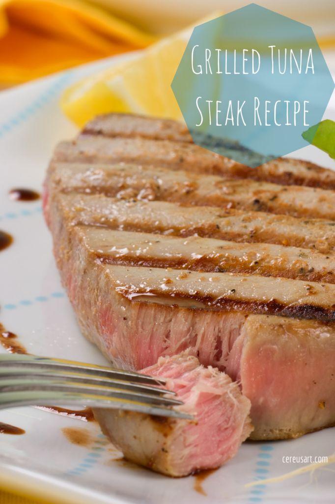 tuna steak how to cut