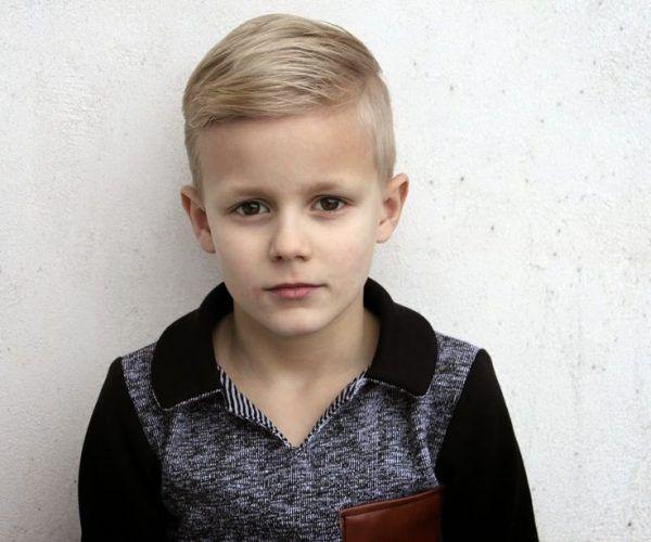 Стрижки для мальчика с хвостиком