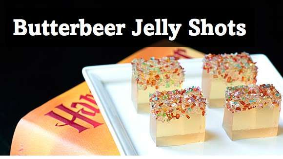 The Butterbeer Jelly Shot Wands are Magically Delicious trendhunter ...