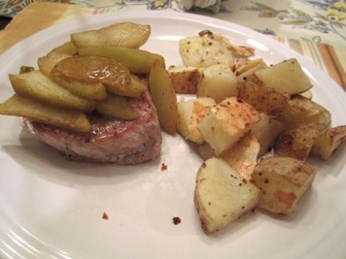 caramel apple pork chops | SPOT OF TEA DESIGNS - My blog! | Pinterest