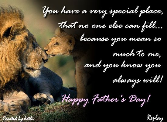 father's day ecard for husband
