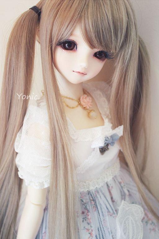 Hair Style Doll : hair style hairstyles haircuts Cute dolls &Bears Pinterest
