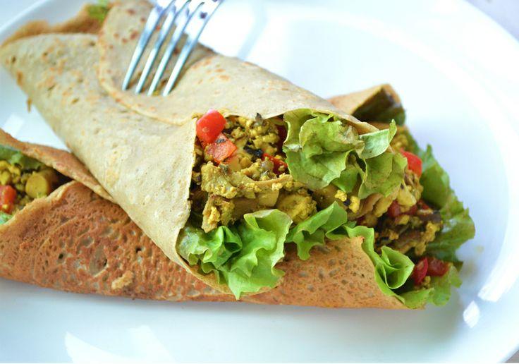 Gluten free, vegan buckwheat crepes   Scones and Crepes   Pinterest
