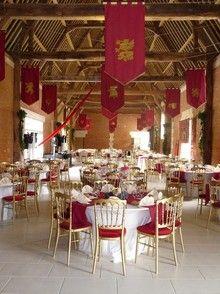 Décoration de salle mariage médiéval http://s.tf1.fr/mmdia/i/04/2 ...