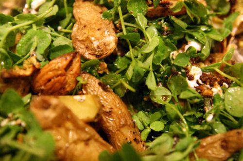 Roasted Cauliflower & Fingerling Potato Salad. http://tastyplan.com ...