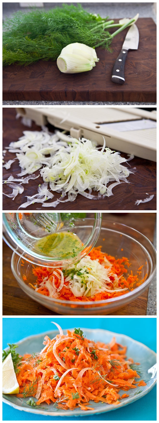 French Carrot Fennel Salad | Haute Foodie! | Pinterest