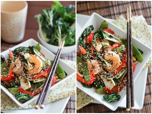 Shrimp and Baby Bok Choy Stirfry | Phisch, Seaphood and Surph | Pinte ...