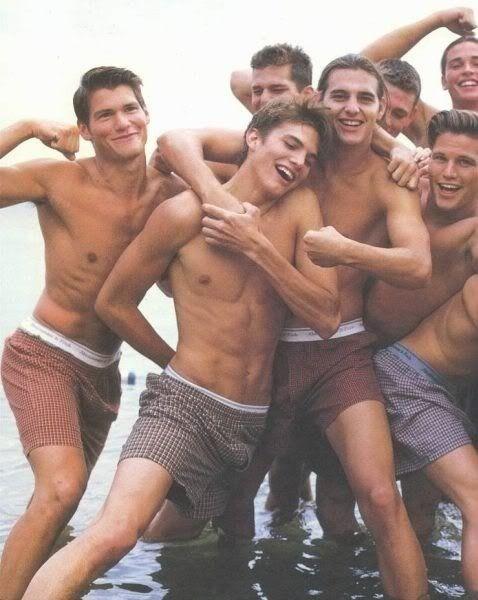 Naked hot men together