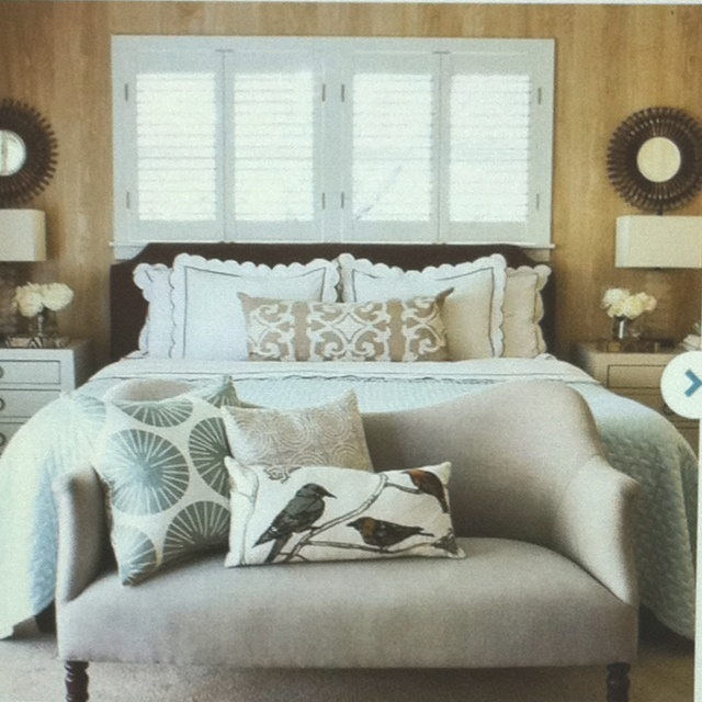 Love the seat at the foot of the bed home is where the heart is p - Seat at foot of bed ...
