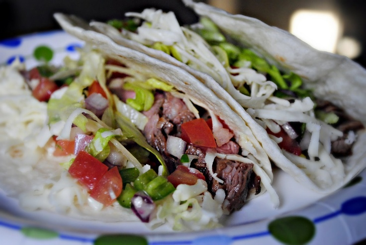 ... Flank Steak Tacos with Cilantro Lime Marinade and it was beyond