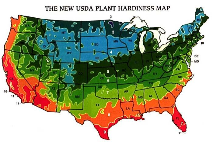 New Planting Zones Farming Pinterest
