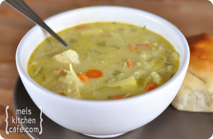 Mulligatawny soup - a creamy soup with vegetables, apples, and Indian ...