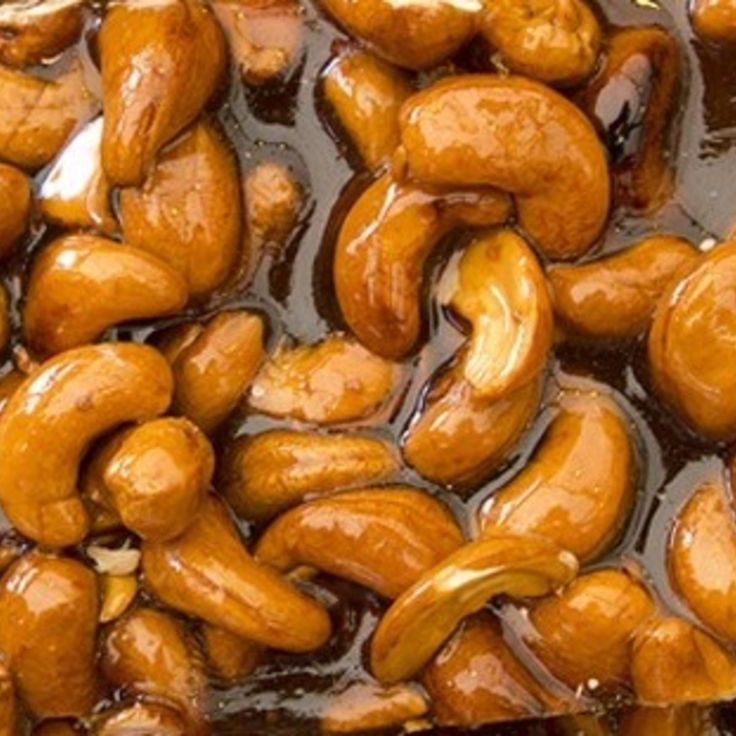 Cashew Brittle Made With Honey | Favorite Recipes | Pinterest
