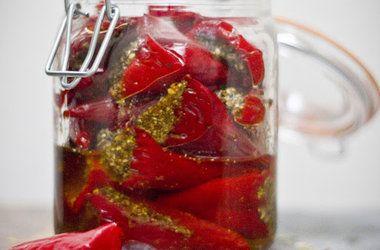 Indian Pickled Peppers | Veggie's~ | Pinterest