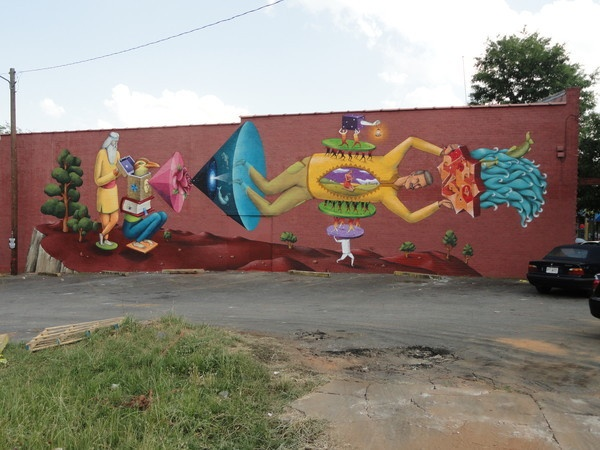 Pin by robin datz on atlanta and the rest of my backyard for Atlanta mural artist
