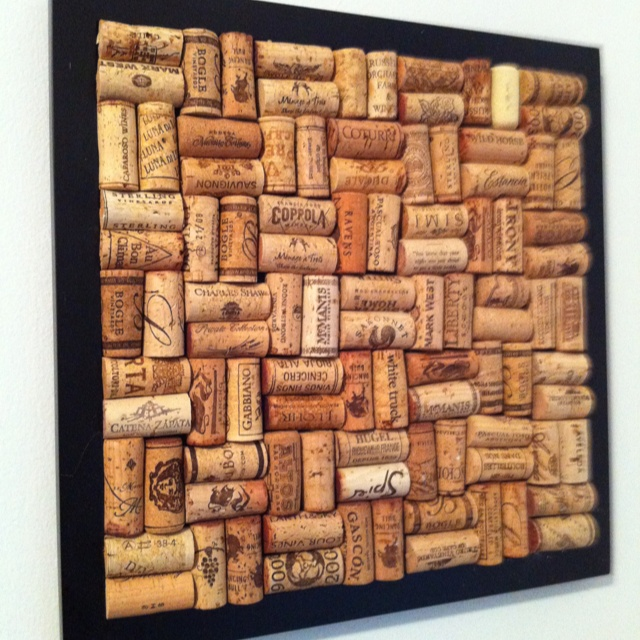 Diy wine cork decor diy crafts pinterest - Wine cork diy decorating projects ...
