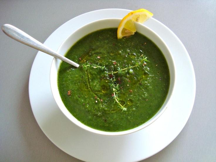 Green Monster Soup | vegetable recipes | Pinterest