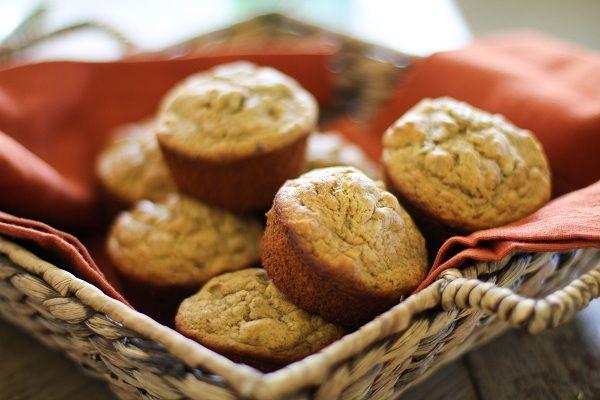 Gluten-Free Banana Walnut Muffins #glutenfree
