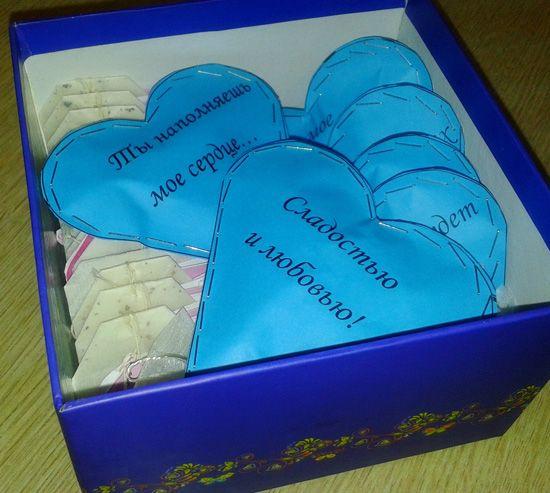 Подарок своими руками мужу на 14 февраля