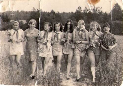 фото голые пионерки в ссср
