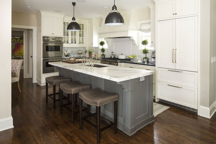 Beautiful Gray Kitchens