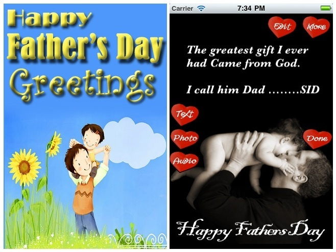 father's day video app