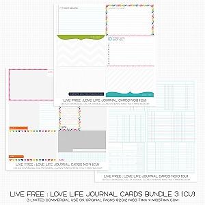 60 FREE Printable Journal Cards!