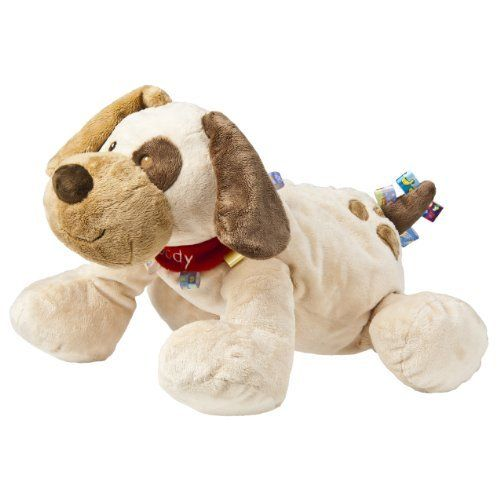 """Taggies 19"""" Plush, Big Buddy Dog by Mary Meyer. Save 24 Off!. $33.98. From the Manufacturer                Whether for your own little one or to give as a gift, Mary Meyer's Taggies are a perfect choice. Taggies have looped ribbons all over, babies can seek and find them from any position or angle. With every new year, Mary Meyer learns what parents and babies adore about their Taggies. We continue to offer the most popular Taggies, while also taking what we have learned and creating new desig..."""