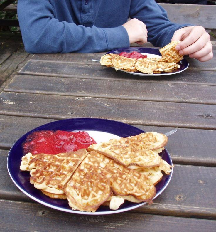 Vafler!! (Norwegian Waffles) Soooo delicious!! Brings back great ...