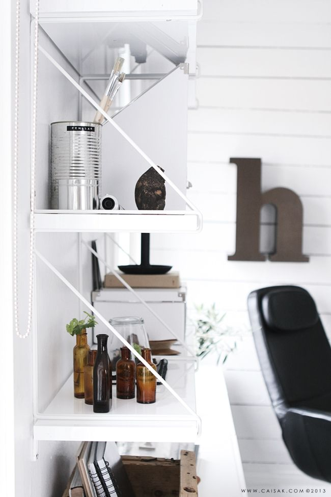 ikea shelves guest bedroom offic