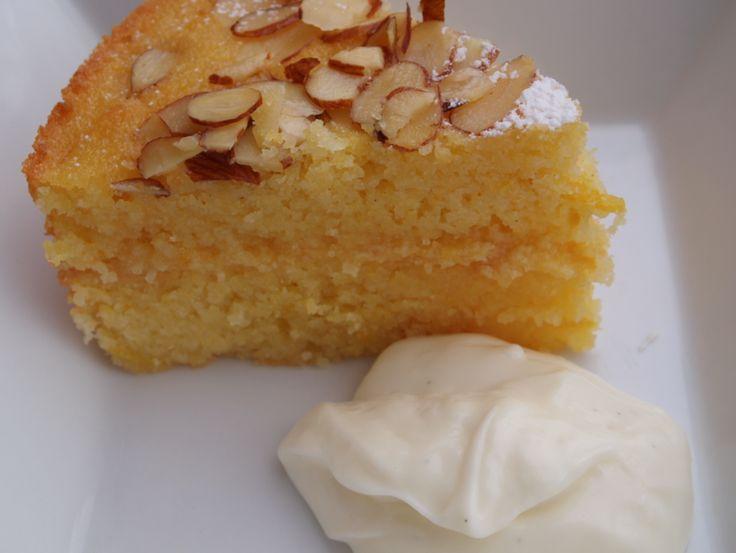 Mama's Style ~ Gluten-Free Recipe (Lemon Yoghurt Layer Cake)