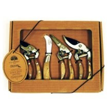 Flexrake CLA108 Classic 4-Piece Ergonomic Pruner Gift Set