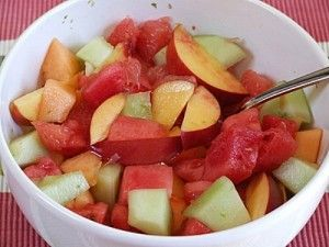 Fruit Salad w/ Lime Syrup | Recipe