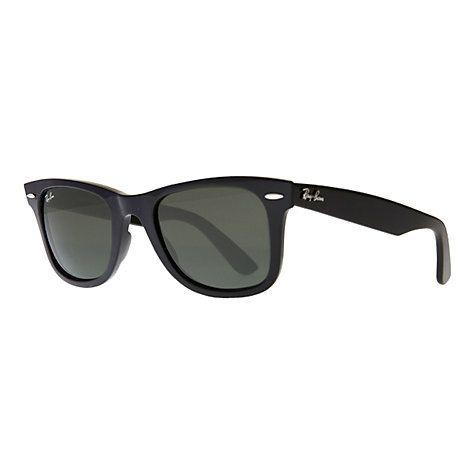 ray ban rb2132 iconic wayfarer  ray ban rb2132 iconic wayfarer oval sunglasses black
