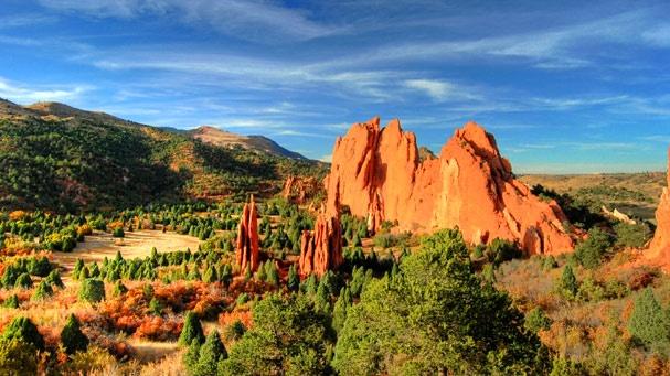 Garden Of The Gods Colorado Springs Co Pretty Nature Pintere