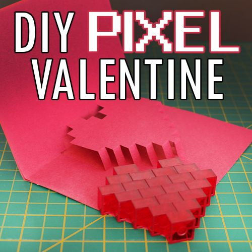 diy geeky valentine's day cards