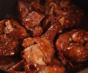 Chicken With Mushrooms and Port Wine | Food, Glorious Food | Pinterest