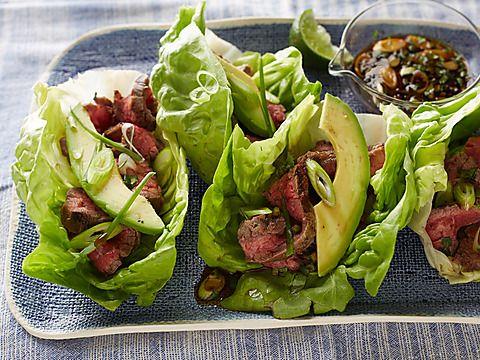 ... Network - FoodNetwork.com. Orange marinade. Lime. Butter lettuce wraps