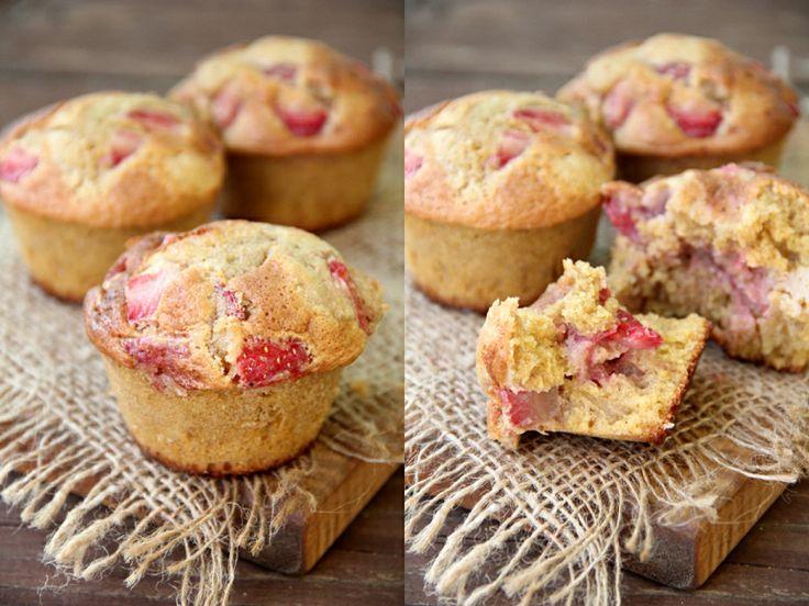 Strawberry-Maple Corn Muffins   Breakfast Cake   Pinterest