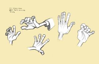 Dibujar manos con poses interesantes